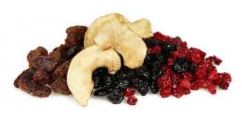 scandinavian forest - blueberries, lingonberries, cherry infused raisins and apple