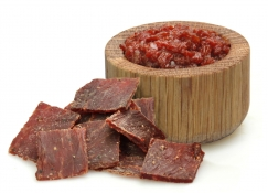 applewood smoked beef jerky - british beef jerky and smoky tomato relish