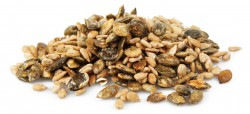 vanilla sunflower seeds and vanilla pumpkin seeds
