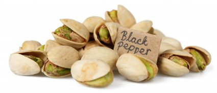 image of black pepper pistachios