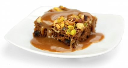 image of sticky toffee pudding
