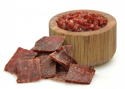image of applewood smoked beef jerky