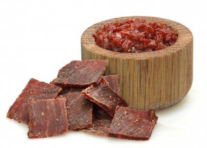 image of applewood smoked beef jerky