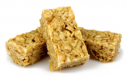 image of apple and cinnamon flapjack