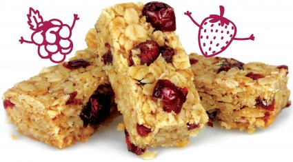 image of summer berry flapjack