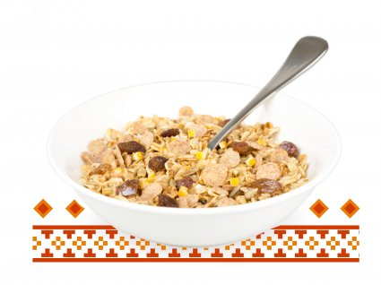 image of toasted quinoa granola