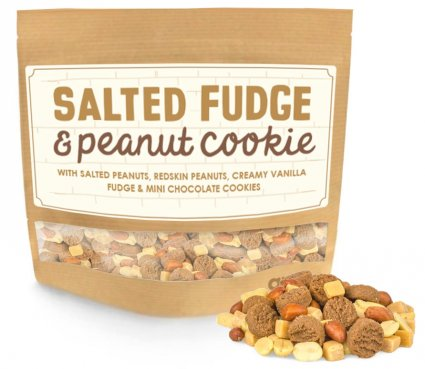 image of salted fudge and peanut cookie