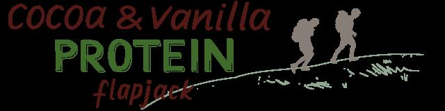 cocoa & vanilla protein flapjack