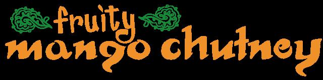 fruity mango chutney