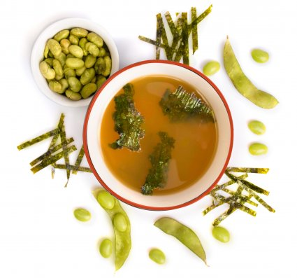 image of Japanese miso soup