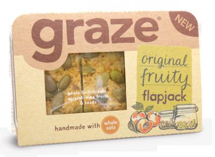 image of full on fruity flapjack