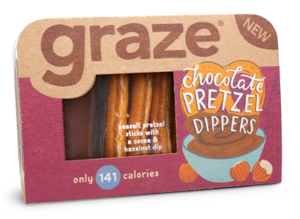 image of chocolate pretzel dippers