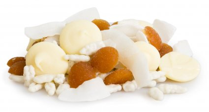 image of peaches and cream