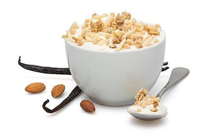 image of vanilla almond protein granola topper