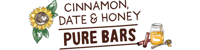cinnamon, date & honey pure bars
