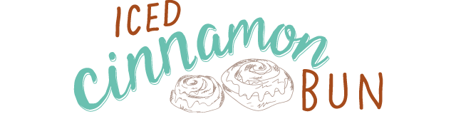 iced cinnamon bun
