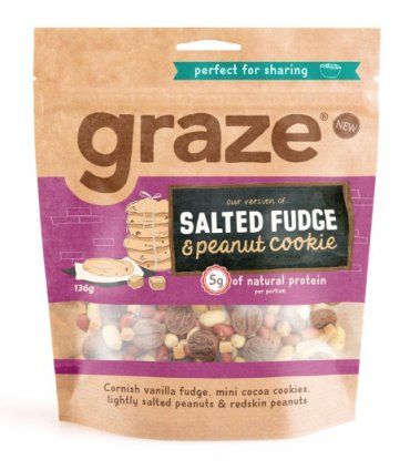 image of salted fudge peanut cookie