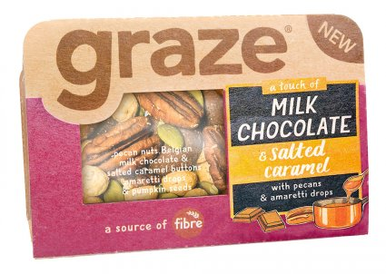image of milk chocolate & salted caramel