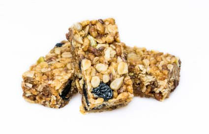 image of baobab & blueberry flapjack