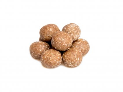 image of honey and lemon mini protein balls