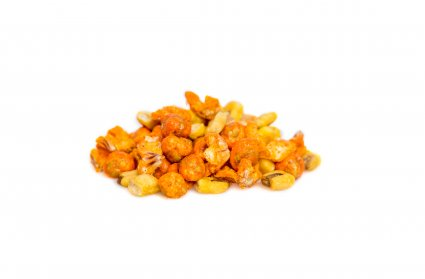 image of spicy sriracha peas