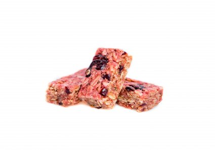 image of raspberry superfood flapjack
