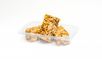 image of maple protein flapjack