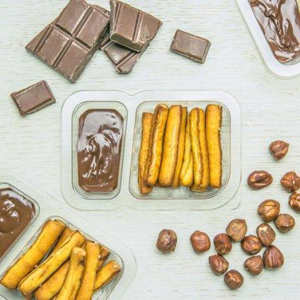 image of chocolate pretzel dipper