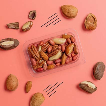 image of heart healthy nuts