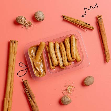 image of Belgian speculoos and cinnamon pretzel sticks