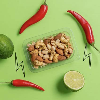 punchy chilli & lime nutty protein power