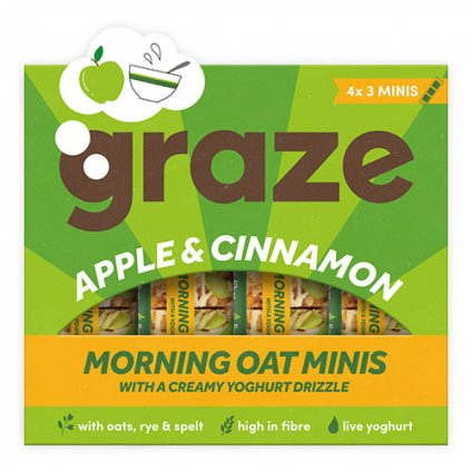 image of apple & cinnamon morning oat minis