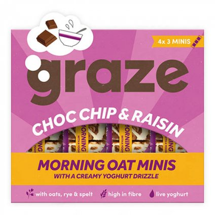 image of choc chip & raisin morning oat mini