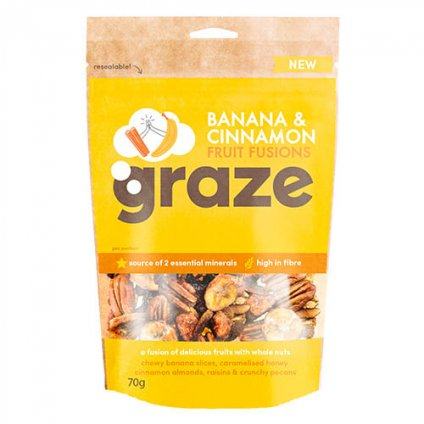 image of banana cinnamon fruit fusion