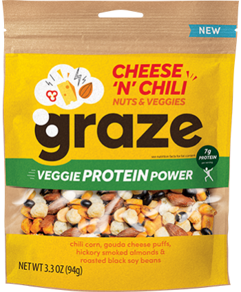 image of cheese n chili veggie protein