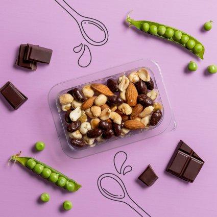 sweet and salty chocolate curiosities