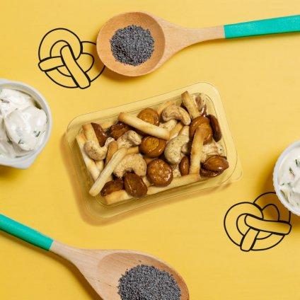 image of sweet mustard pretzel