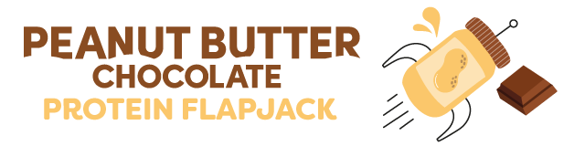 peanut butter chocolate protein flapjack multipack