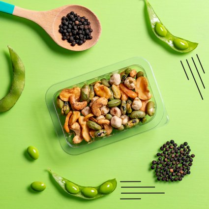 salt & pepper veggie protein power