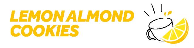 lemon & almond cookies and tea multipack