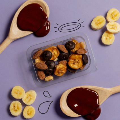 image of choccy wonders - banana & peanut