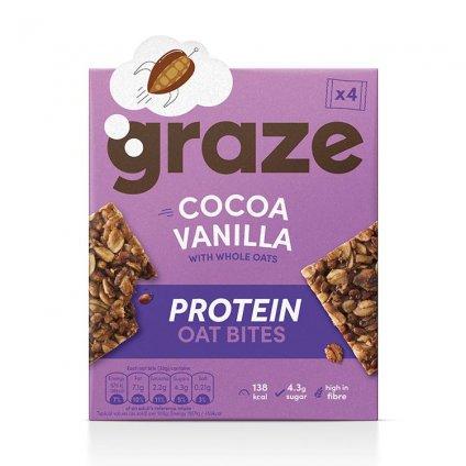 image of cocoa vanilla protein bites