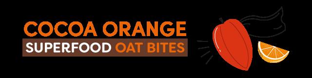 cocoa orange superfood bites