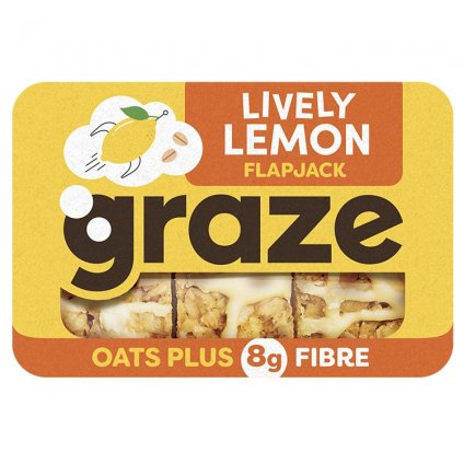 image of lively lemon flapjack