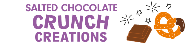 salted chocolate crunch sharing bag