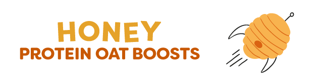 honey & oat protein oat boosts